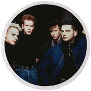 Depeche Mode Round Beach Towel