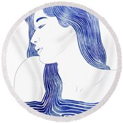 Dero Round Beach Towel