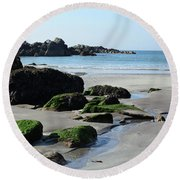 Derrynane Beach Round Beach Towel