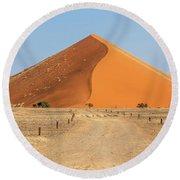 Desert Dune Round Beach Towel