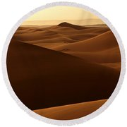Desert Impression Round Beach Towel