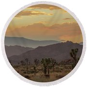 Desert Magic Round Beach Towel