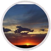 Desert Memories Round Beach Towel