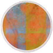 Desert Mirage Round Beach Towel