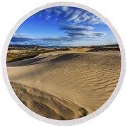 Desert Texture Round Beach Towel