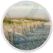 Destination Serenity Round Beach Towel
