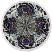 Detached Round Beach Towel by Jim Pavelle