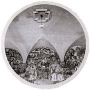 Diego Rivera Round Beach Towel