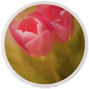 Different Than A Rose Round Beach Towel