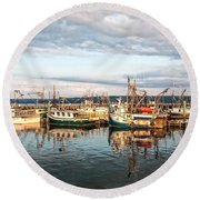 Digby Harbour Round Beach Towel
