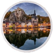 Dinant Round Beach Towel