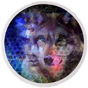 Discovery Of The Path Round Beach Towel