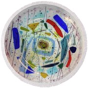 Dish Round Beach Towel