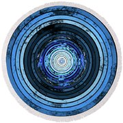 Disk Round Beach Towel