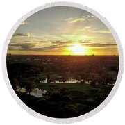 Disney Sunset Round Beach Towel