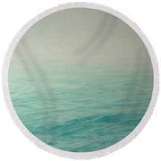 Distant Breath Of A Wing Round Beach Towel