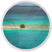 Aruba Round Beach Towel