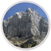 Round Beach Towel featuring the photograph Dm5963 Matterhorn Peak Or by Ed Cooper Photography