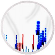 Dna Slide Round Beach Towel