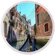 Do You Have A Navigation Chart? Round Beach Towel