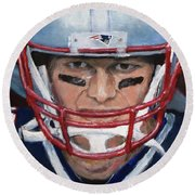 Do Your Job Round Beach Towel by Jack Skinner