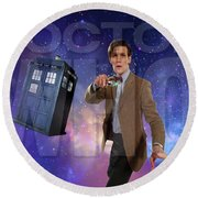 Doctor Who Round Beach Towel