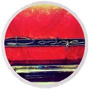 1963 Dodge 440 Classic Round Beach Towel