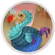 Dodo Round Beach Towel