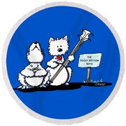 Doggy Bottom Boys Round Beach Towel