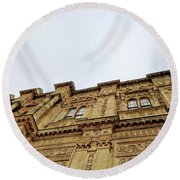 Dolmabahce Palace Round Beach Towel