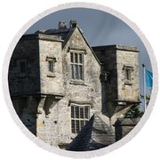 Donegal Castle Round Beach Towel