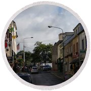 Donegal Town 4118 Round Beach Towel