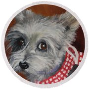 Dorothy Round Beach Towel