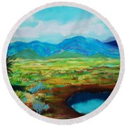 Douglas Round Beach Towel