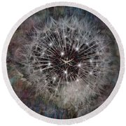 Down To Earth Round Beach Towel by Tlynn Brentnall