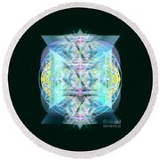Dragon's Chalice Round Beach Towel