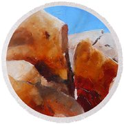 Dragoon Boulders Round Beach Towel