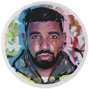 Drake Round Beach Towel