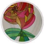 Dream 14  Round Beach Towel