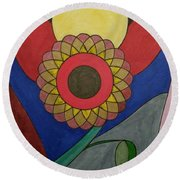 Dream 149 Round Beach Towel