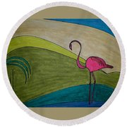 Dream 247 Round Beach Towel