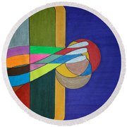 Dream 262 Round Beach Towel