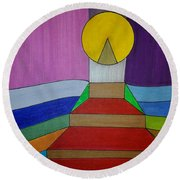 Dream 263 Round Beach Towel