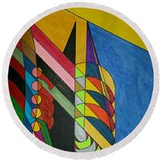 Dream 296 Round Beach Towel