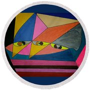 Dream 299 Round Beach Towel