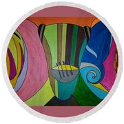 Dream 305 Round Beach Towel