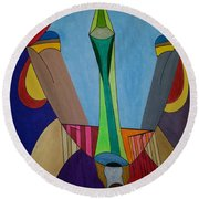 Dream 312 Round Beach Towel