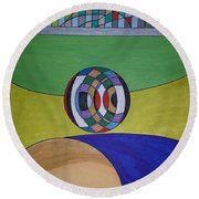 Dream 315 Round Beach Towel