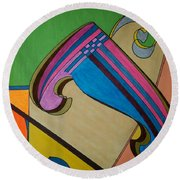 Dream 317 Round Beach Towel