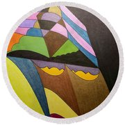 Dream 321 Round Beach Towel